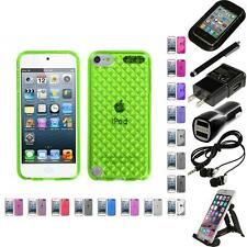 For Apple iPod Touch 5th 6th Gen TPU Rubber Skin Flexible Case Cover Access