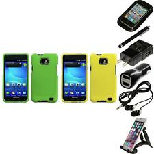 For Samsung Galaxy S2 i9100 Snap-On Hard Case Cover Skin Accessory Accessor