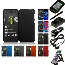 For Amazon Fire Phone Rubberized Matte Snap-On Hard Case Phone Cover Access