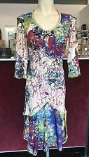 SAVE THE QUEEN NS NUDE PRINT DRESS S,M,L,XL