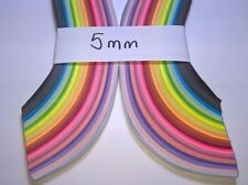 250 X Colorful Quilling Paper Origami Paper DIY Hand Craft Tool paper 3mm or 5mm
