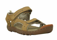 WOODLAND ORIGINAL MENS CAMEL 1609114 CASUAL SANDAL SLIPPER