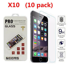 10pcs/lot Tempered Glass iPhone 7 7plus Screen Protector Film 9H proof Expl