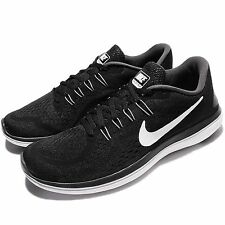 Nike Flex 2017 RN Run Black White Men Running Shoes Sneakers Trainers 898457-001