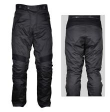 Motorcycle Waterproof Trousers CE Armoured Black Motorbike Thermal Pants