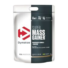 Super Mass Gainer bag 11.5 lbs (5232g) - Dymatize - Gainer, Ganador de peso