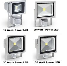 LOTTO FARO LED DA ESTERNO IP65 10W 20W 30W 50W WATT SENSORE DI MOVIMENTO