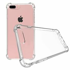 Luxury Crystal Clear Shockproof Case TPU Bumper Back Cover for iPhone 7 7Pl