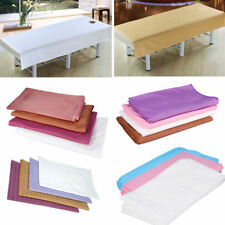 36Style Beauty Massage SPA Cotton StripeBed Table Couch Cover Sheet With Hole AM