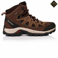 Salomon Authentic LTR Hombres Marrón Impermeable GTX Zapatillas Botas Trekking