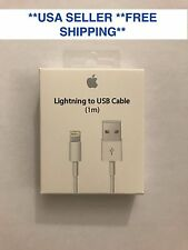 Genuine Apple iPhone 7 7S 6 6S Plus 5C Lightning USB Cable Charger bulk