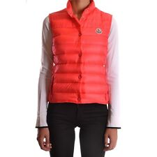 bc26401 MONCLER GILET ROSSO DONNA WOMEN'S RED GILET