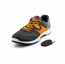 Reebok Mens Original Carthage Run Grey Orange Casual Sports Shoes
