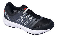 Reebok Mens Original Dual Dush Runner Black Grey Casual Sports Shoes