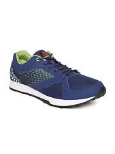 Reebok Mens Original Run Train Blue Yellow Casual Sports Shoes