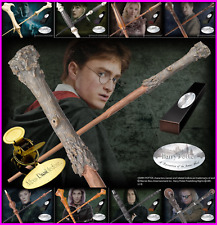Harry Potter Character Wand Noble Collection Metal Clip Hermione Black Snape UK