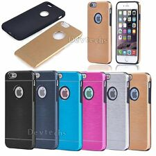 Luxury Slim Metal Bumper Hard Back Case Cover For Apple iPhone 6 6S 4.7 inc