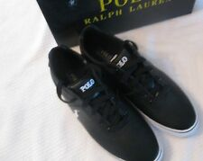 NEW IN BOX $65 Men's Polo Ralph Lauren Hanford Leather Sneakers Shoes Size