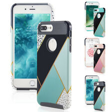 For iPhone 7/ 6S Plus Luxury Shockproof Protective Hybrid Hard Back Case Co