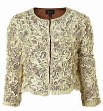 AUTHENTIC ZARA BEAUTIFUL EMBROIDERED BLAZER JACKET COAT CELEBRITY BLOGGERS NEW