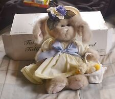 Tulip And Ducky The Bearington Collection w/Original Box EASTER, SPRING