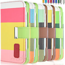 Luxury Magnetic Cover Stand Wallet Flip PU Leather Case For Apple iPhone 6S