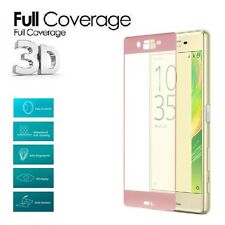 3D Full Cover Tempered Glass Screen Protector For Sony Xperia X XA XZ X Compact
