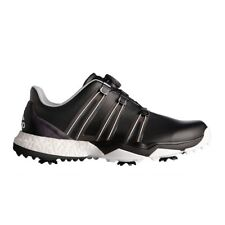 Adidas 2017 Powerband Boa Boost WD Golf Shoes - Black/White