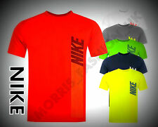 New 208 Nike Vertical JDI QTT T-Shirt Crew Neck Casual Top Size Age 7-13 Years