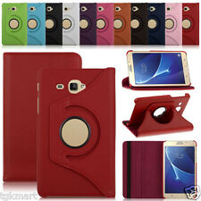 360 Degree Rotating Leather Case Cover for Samsung Galaxy Tab J Max 7.0 inch