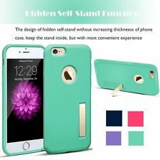 Fashion Kickstand Hard Shockproof Case TPU/Rubber Cover For Apple iPhone 6