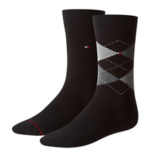 Tommy Hilfiger Herren Socken Check 2er Pack