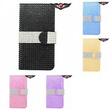 For Apple iPhone 6/6S Case Wallet Diamond Bling LUXURY Fashion With Card Ho