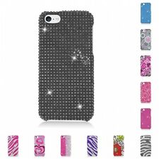 For Apple iPhone 5C Case Diamond Bling Luxury Fashion Cute Hard Cover