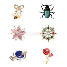 Multi Style Animal Insect Flower Planet Brooch Pin Men Women Jewelry Decor