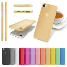 Candy Color Ultra-thin TPU Soft Phone Case Cover for iPhone 7 7 Plus Case S