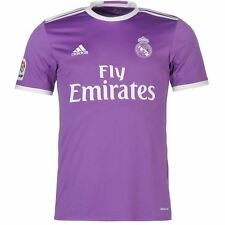 ADIDAS REAL AWAY JSY CAMISETA OFICIAL REAL MADRID SEGUNDA 2017 BLANCO AI5158