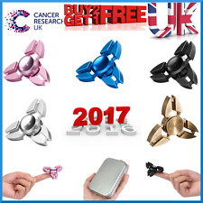 *UK SPECIAL OFFER* Fidget ALLOY Hand Finger Spinner Stress Relief ADD ADHD(2017)