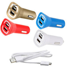 For Samsung ATIV S Neo/ Convoy 3 OEM Verizon 4.8A Rapid Dual Car Charger
