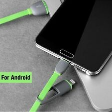 NEW USB 2 in 1 iPhone, Android, Smartphone Charger and Data Sync Cables (Co