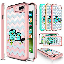 Hybrid Soft TPU Armor Defender Case Cover for Apple iPhone 6 /6S Plus /7 Pl