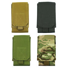 Tactical Army MOLLE Bag Hook Loop Belt Pouch Holster Case For iPhone Cell P