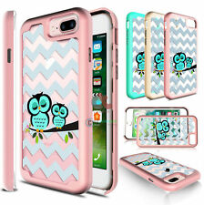 For Apple iPhone 6 / 6S / Plus - Bling Slim Armor Hybrid Shockproof Case Co