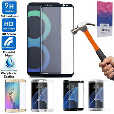 Full Cover 3D Tempered Glass Screen Protector For Samsung Galaxy S8 Plus S7