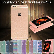 Beauty Glitter Bling Full Body Decals Sticker Protect Case for iPhone 6 6s