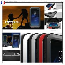 Etui Coque Antichocs incassable LOVE MEI Shockproof Case Cover Samsung Galaxy S8