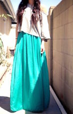 ZARA BEAUTIFUL LONG MAXI SKIRT WITH SLIT AND POCKET BLOGGERS BRAND NEW
