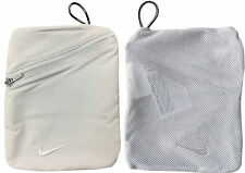 """Nike Golf Valuables Pouch Accessories Bag - 1st Class Post - 5"""" X 7"""" Mesh"""