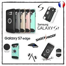 Etui Coque housse Antichocs Shockproof Case cover Samsung Galaxy S7 ou S7 Edge