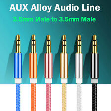 1m 3.5mm Aux ausiliario CORDINO MASCHIO A cavo audio stereo pc ipod mp3 auto